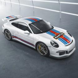 Kit déco Martini Porsche Complet