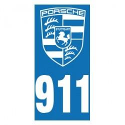 Immatriculation 911