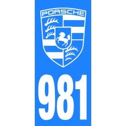 Immatriculation 987