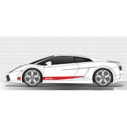Bandes Lamborghini Gallardo V2
