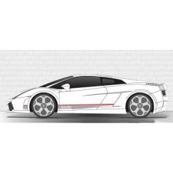 Bandes Lamborghini Gallardo V3